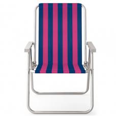 Cadeira Alta Conforto Alumínio - MOR - rosa e azul