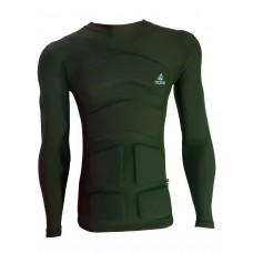 Camiseta Aux Flutuação 100kg  Verde Militar Longa
