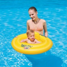 Boia Circular Para Bebe Swim Safe 0-2 anos Praia Piscina