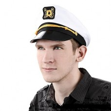Chapéu cap de capitão Fantasia Carnaval