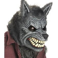 Máscara Lobisomen Homem Lobo Halloween Carnaval