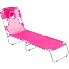 Cadeira Espreguiçadeira SPA Bel Dobrável Praia Piscina