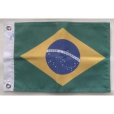 Bandeira Do Brasil Para Barcos - 23x33 cm Pronta Entrega