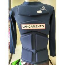 Camiseta Aux Flutuação 100kg  Azul Marinho Longa