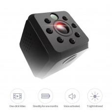 Mini Câmera de Segurança Escondida E015 Wifi/HD Visao Noturna