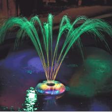 Chafariz Para Piscina Jardim Luzes Subaquáticas Show De Luz