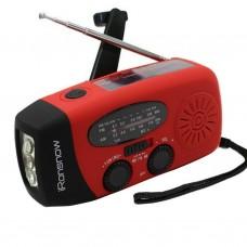 Radio Portatil AM/FM com Lanterna e Carregador para Celular 1000mAh