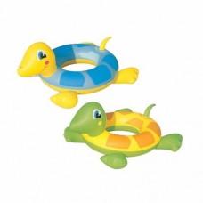 Boia Infantil Inflável Para Piscina Circular Tartarugas Bel