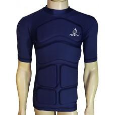 Camiseta Aux Flutuação Azul Marinho Manga Curta 35kg