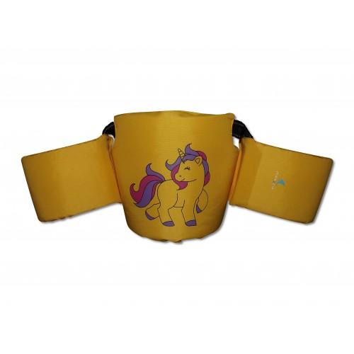 Colete auxiliar de flutuação Kids - amarelo