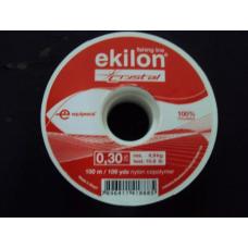 Kit: 3 Linhas Ekilon Crystal 0.30mm 10,8lb 100m