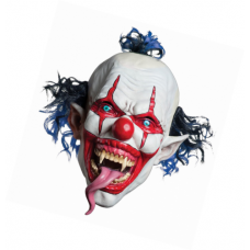 Máscara  de Palhaço Maléfico Latex Halloween