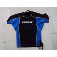 Blusa de Neoprene Azul Fun Dive