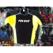Blusa de Neoprene Amarela Fun Dive