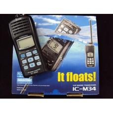 RÁDIO DE COMUNICAÇÃO ICOM - IC M34 - FLUTUANTE