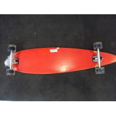 Skate Longboard Blank & Graphic Complete (vermelho)