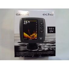 Sonar Fishfinder Garmin Echo 551dv