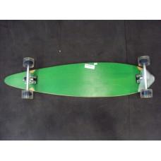 Skate Longboard Blank & Graphic Complete (verde)