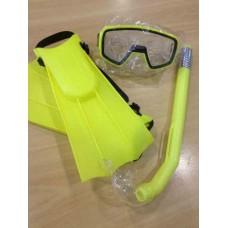 Kit de mergulho Infantil Nautika Mascara Snorkel Nadadeira