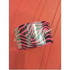 Fita Adesiva Silver Tape Zebra Rosa 48mm X 9,1m