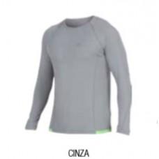 Camisa Manga Longa Mormaii Prot Uv 50 - CINZA